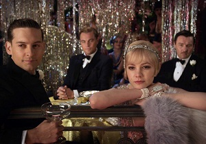 A still from Baz Luhrmann's The Great Gatsby