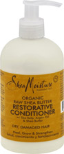 Organic Raw Shea Butter Restorative Conditioner for Dry Damaged Hair