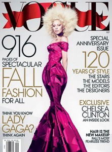 Vogue's Lady Gaga Covered September Issue