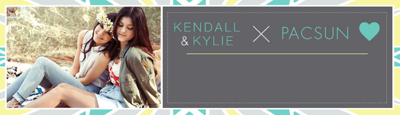 kendall and kylie for pacsun