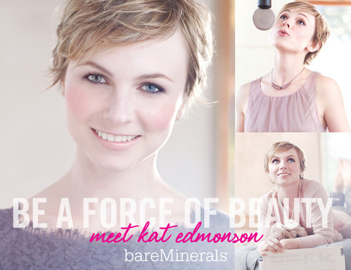 bare minerals, bare minerals force of beauty, bare minerals kat edmonson