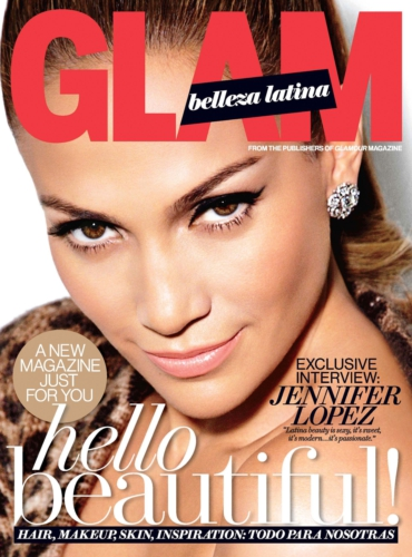 glamour magazine, latina magazine, veronica chambers, belleza latina, jennifer lopez, latin beauty, latina beauty