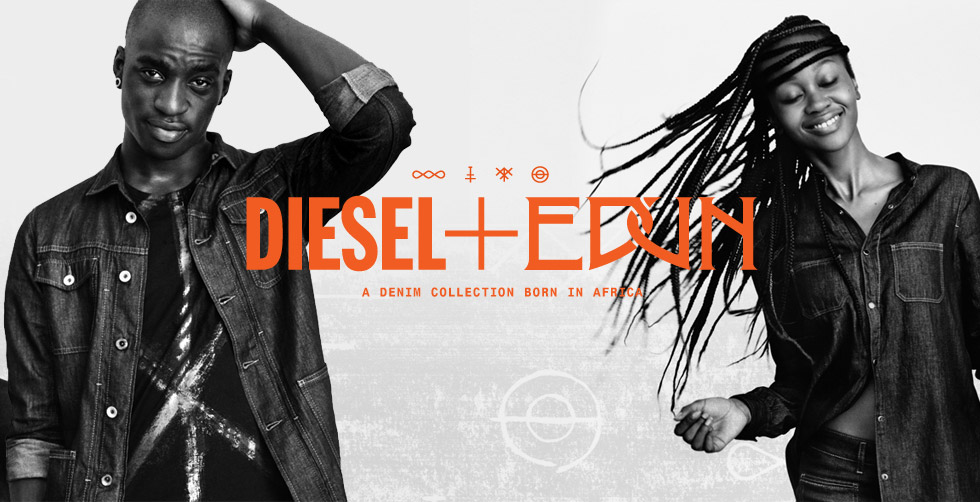 diesel and edun collaboration, ethical fashion, fashion africa, diesel edun africa collection
