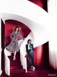 joan smalls red staircase