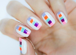 color-blocks-on-white-graphic-nails
